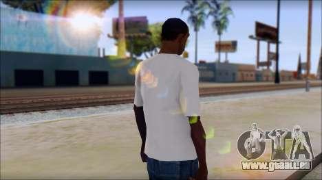 Johnny Bravo T-Shirt v1 für GTA San Andreas zweiten Screenshot