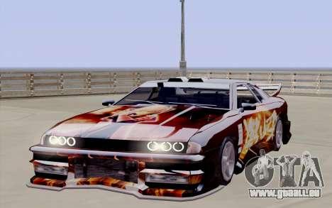 Travaux de peinture pour Yakuza Élégie pour GTA San Andreas vue de droite