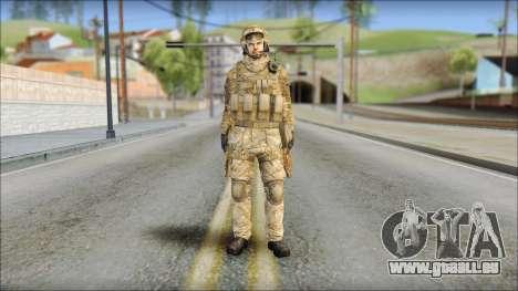 Desert SAS from Soldier Front 2 für GTA San Andreas