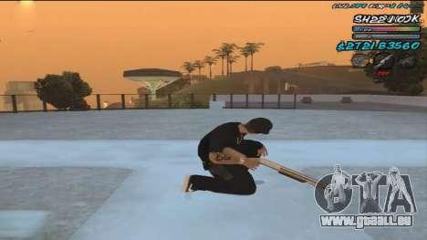 C-HUD by ShnoorOK pour GTA San Andreas deuxième écran