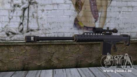 Heavy Sniper from GTA 5 v2 pour GTA San Andreas