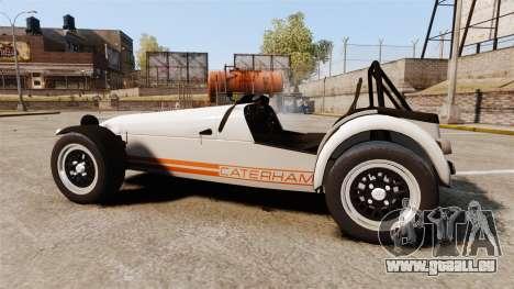 Caterham Seven 620 R für GTA 4 linke Ansicht