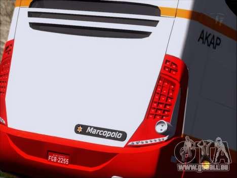 Marcopolo Paradiso 1200 Harapan Jaya für GTA San Andreas obere Ansicht