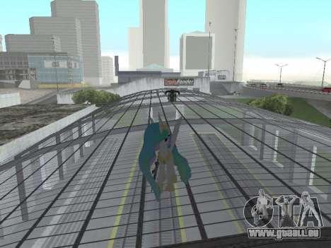 Princess Celestia für GTA San Andreas sechsten Screenshot