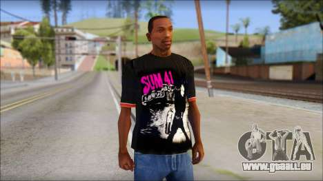 Sum 41 T-Shirt für GTA San Andreas
