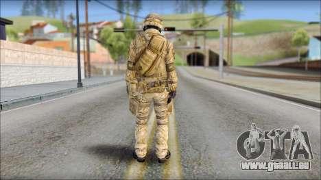 Desert SAS from Soldier Front 2 für GTA San Andreas zweiten Screenshot