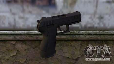 Combat Pistol from GTA 5 pour GTA San Andreas deuxième écran