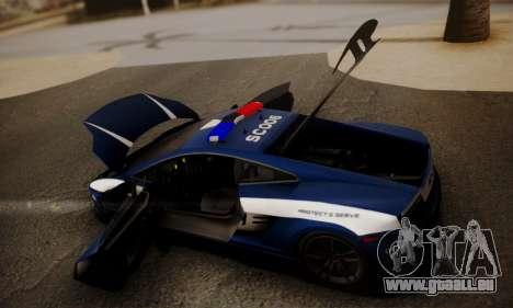 Lamborghini Gallardo LP 570-4 2011 Police v2 pour GTA San Andreas
