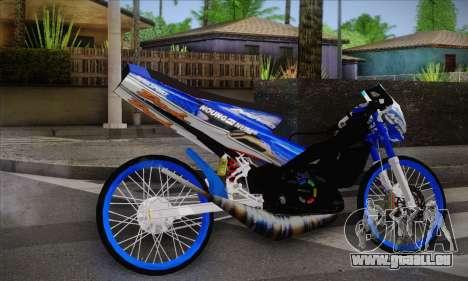 Honda Dash 2 tak pour GTA San Andreas laissé vue