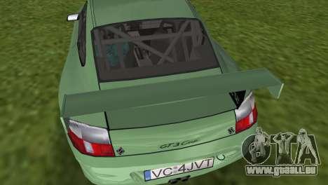 Porsche GT3 Cup 996 pour une vue GTA Vice City de la droite