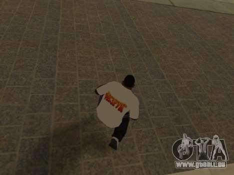 T-Shirt Enseignant pour GTA San Andreas quatrième écran