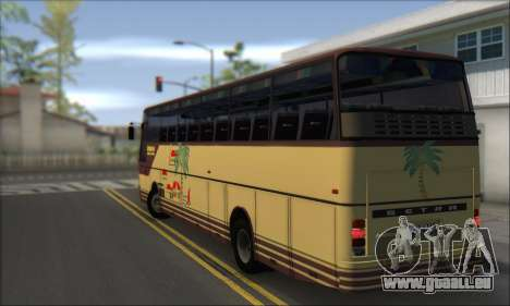 Setra S215 HD pour GTA San Andreas sur la vue arrière gauche