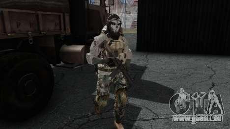 Army Ghost v1 für GTA San Andreas