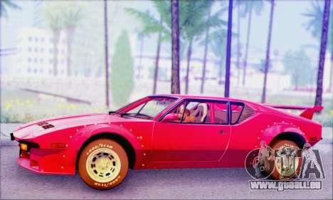 De Tomaso Pantera pour GTA San Andreas
