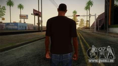 DC Shoes USA T-Shirt für GTA San Andreas zweiten Screenshot