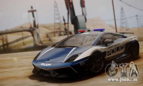 Lamborghini Gallardo LP 570-4 2011 Police v2 für GTA San Andreas linke Ansicht