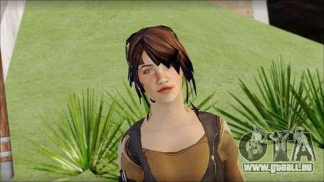 Rebecca für GTA San Andreas dritten Screenshot