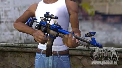 CartBlue from CSO NST pour GTA San Andreas troisième écran
