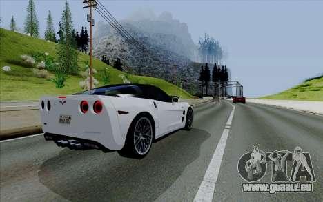 ENBSeries pour les faibles PC v3 [SA:MP] pour GTA San Andreas cinquième écran