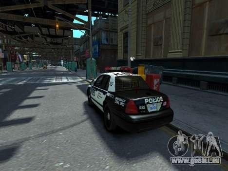 Ford Crown Victoria Police NYPD 2014 für GTA 4 linke Ansicht