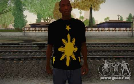 Its More Fun In Philippine T-Shirt pour GTA San Andreas