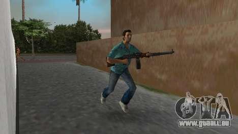 Degtyaryov Bedienungsanleitung Maschinengewehr für GTA Vice City dritte Screenshot
