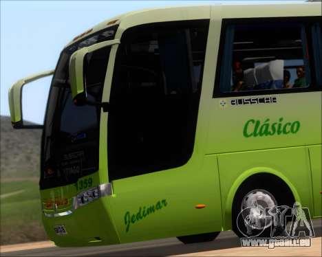 Busscar Vissta LO Scania K310 - Tur Bus für GTA San Andreas obere Ansicht