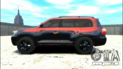 Toyota Land Cruiser 200 2013 pour GTA 4 est une gauche