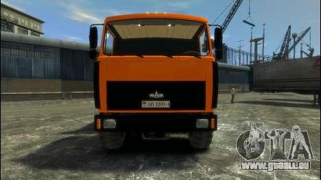 MAZ-6317 pour GTA 4