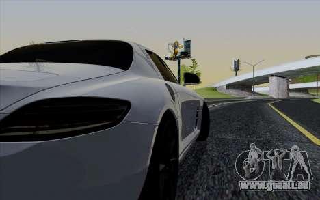 ENBSeries pour les faibles PC v3 [SA:MP] pour GTA San Andreas quatrième écran