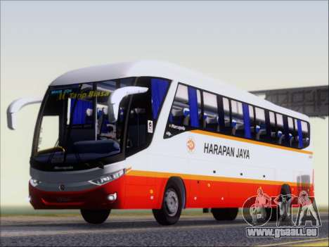 Marcopolo Paradiso 1200 Harapan Jaya für GTA San Andreas Räder