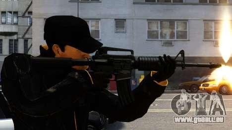 M4A1 für GTA 4 Sekunden Bildschirm