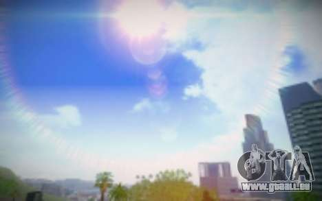 FIXED SkyBox Arrange - Real Clouds and Stars für GTA San Andreas her Screenshot