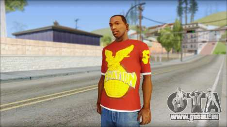 Cenation EHacker Shirt pour GTA San Andreas