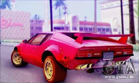 De Tomaso Pantera für GTA San Andreas linke Ansicht
