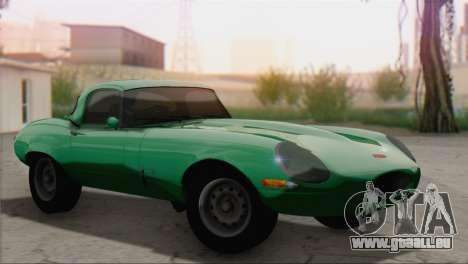 Jaguar E-Type für GTA San Andreas