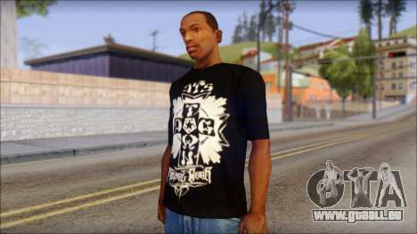 Tribal DOG Town T-Shirt Black für GTA San Andreas