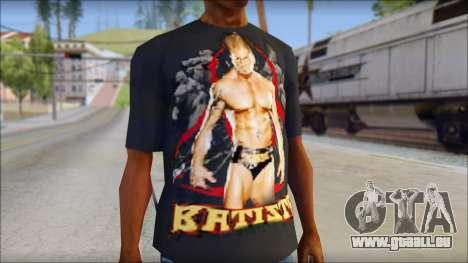 Batista Shirt v1 pour GTA San Andreas troisième écran