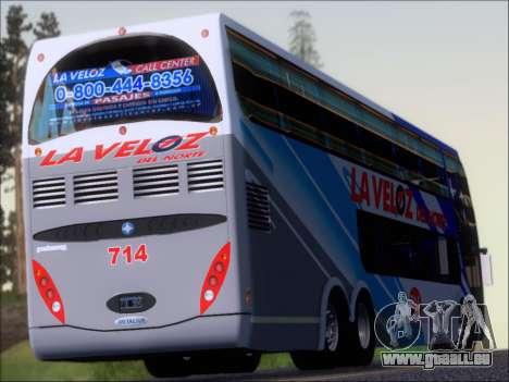 Metalsur Starbus DP 1 6x2 - La Veloz del Norte pour GTA San Andreas