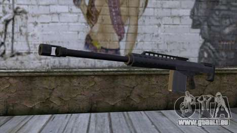 Heavy Sniper from GTA 5 pour GTA San Andreas