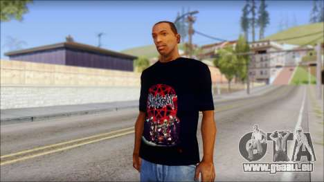 SlipKnoT T-Shirt v3 für GTA San Andreas