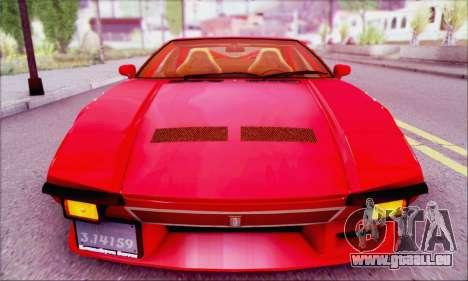 De Tomaso Pantera für GTA San Andreas rechten Ansicht