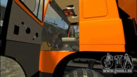 MAZ-6317 pour GTA 4 Vue arrière