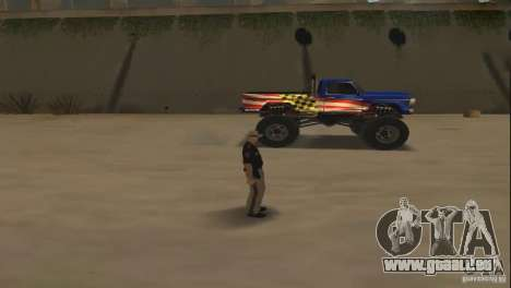 Ferngesteuertes Auto für GTA San Andreas dritten Screenshot