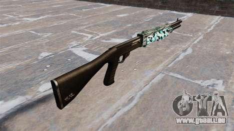 Ружье Franchi SPAS-12 Aqua Camo für GTA 4 Sekunden Bildschirm
