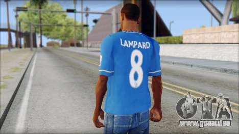 Chelsea FC 12-13 Home Jersey für GTA San Andreas zweiten Screenshot