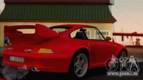 Porsche 911 GT2 (993) 1995 V1.0 EU Plate pour GTA San Andreas laissé vue