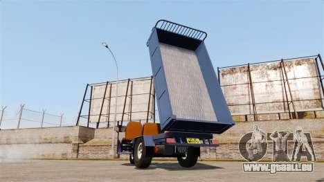 Agrar-Dreirad für GTA 4 Rückansicht