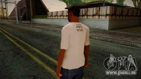 Dreambirds T-Shirt pour GTA San Andreas deuxième écran