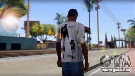 Terror T-Shirt Hardcore für GTA San Andreas zweiten Screenshot
